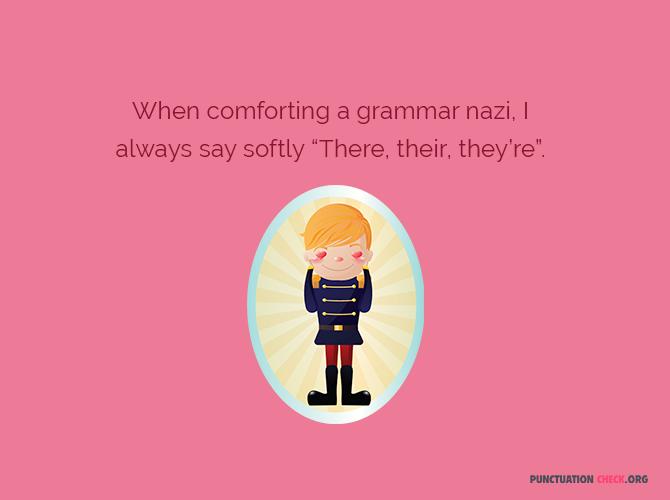 jokes about English frammar