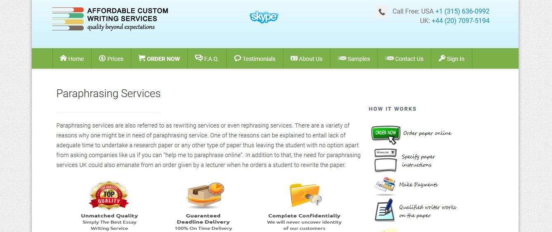 affordablecustomwriting.com review
