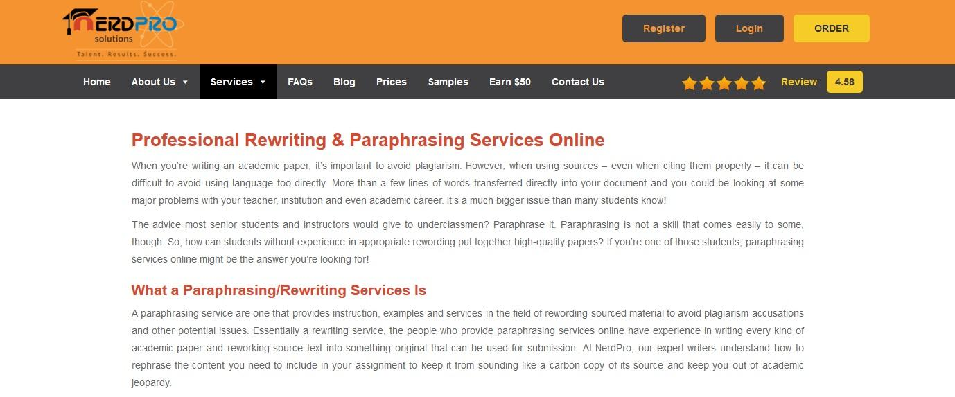 best rephrasing services