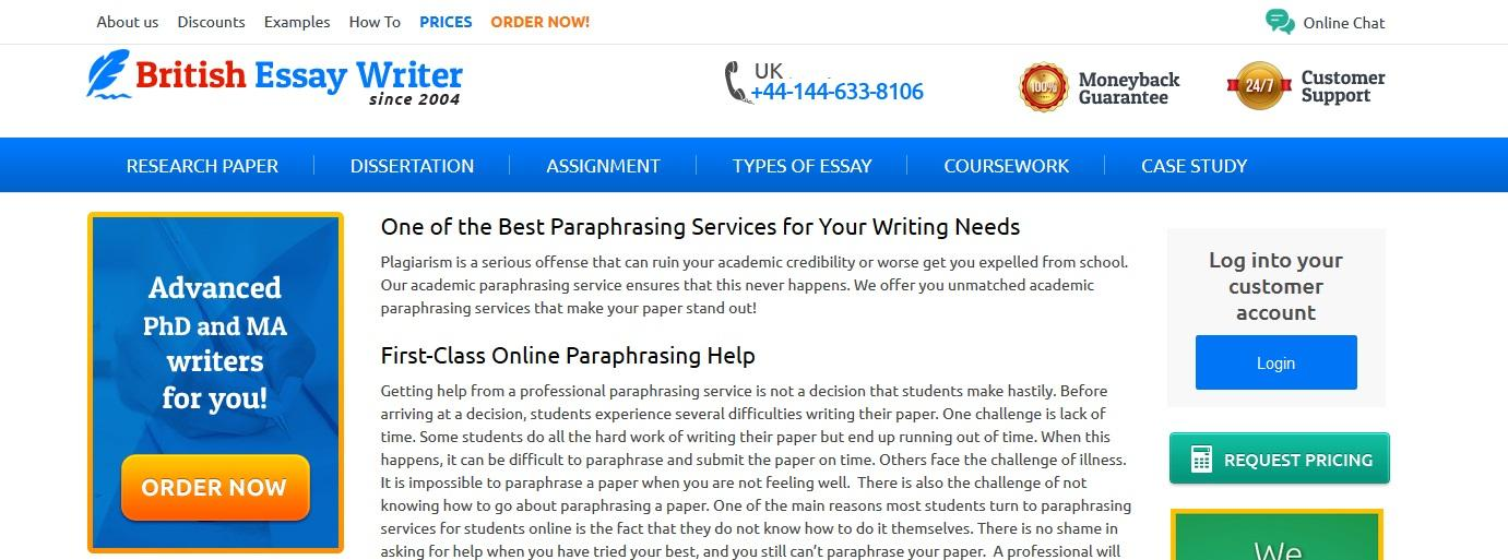 britishessaywriter.org.uk review