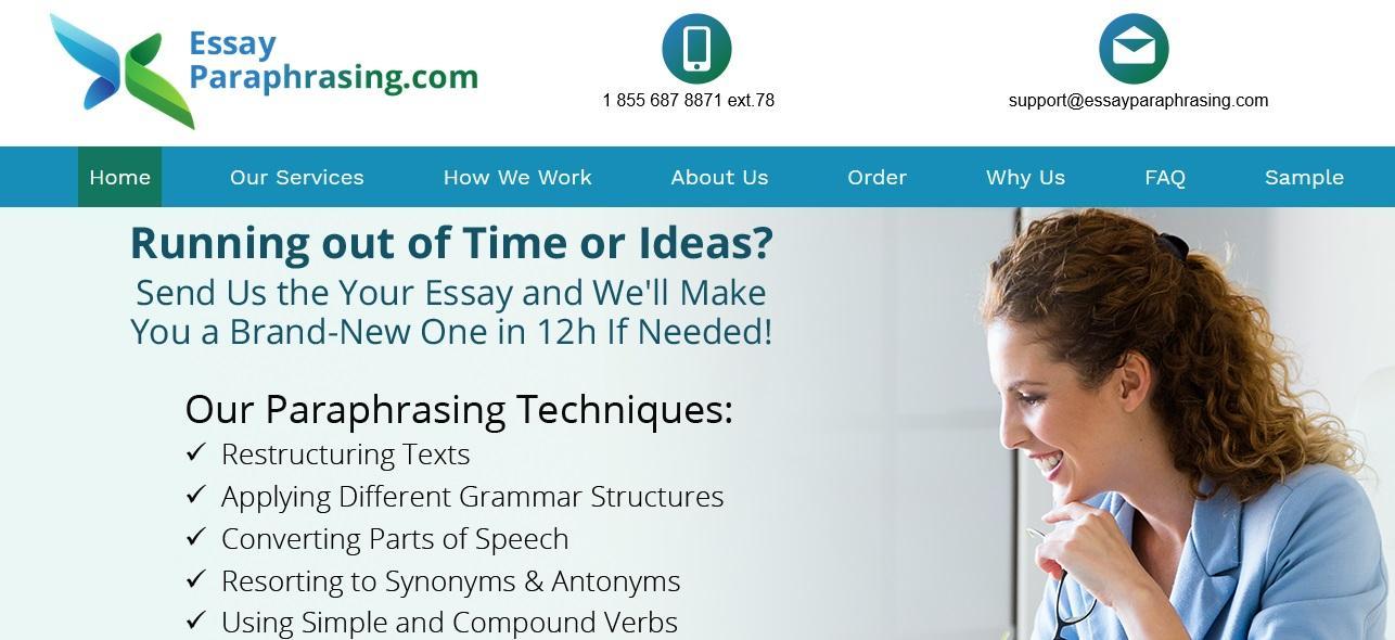 essayparaphrasing.com review