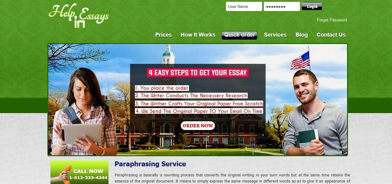 leading paraphrasing services