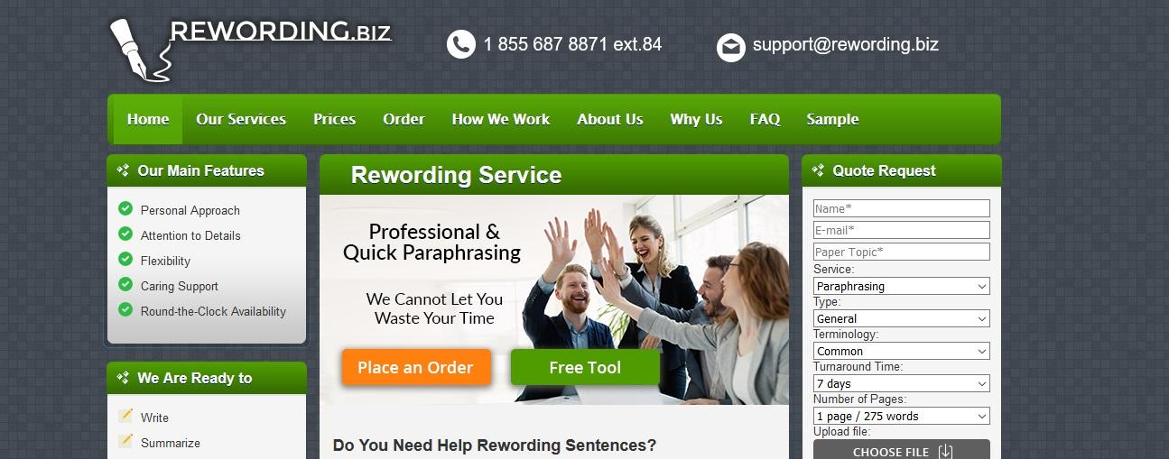 rewording.biz review