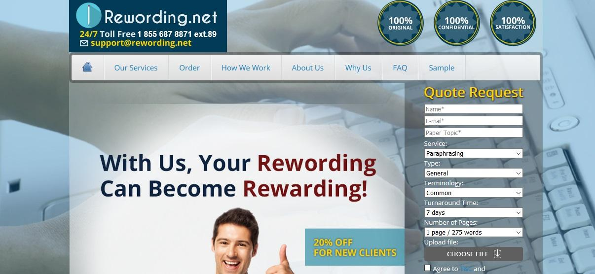 rewording.net review