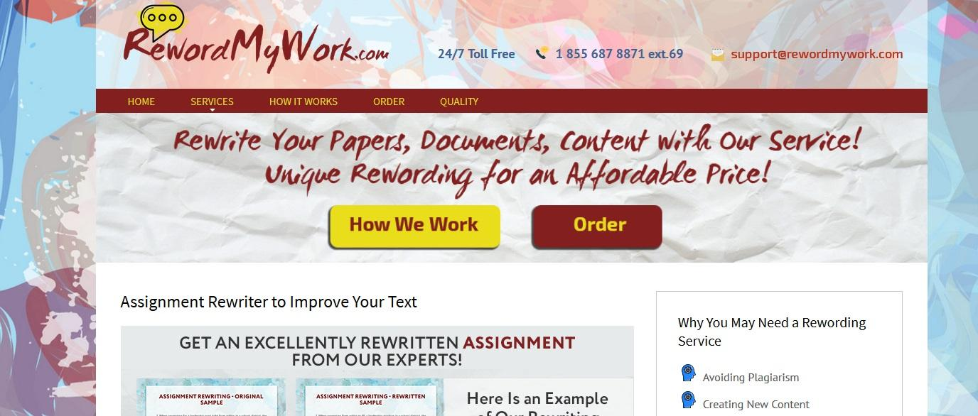 rewordmywork.com review